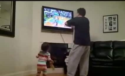 Adorable Girl Imitates Angry Father, Shocked Over Non-Travel Call