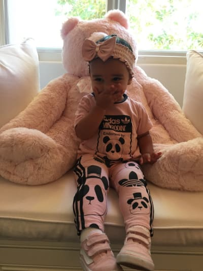 Dream Kardashian, High Fashion Photo