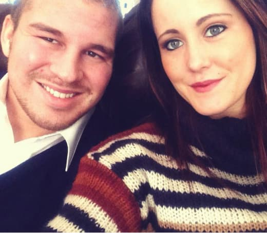 Nathan Griffith, Jenelle Evans Selfie Pic