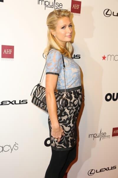 Paris Hilton Red Carpet Pic