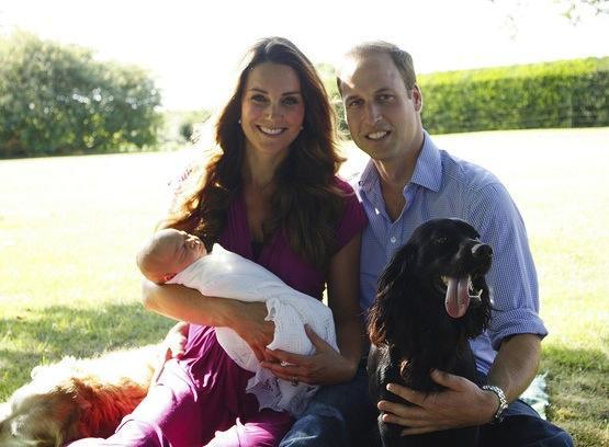 Royal Baby Photo: Family Portrait