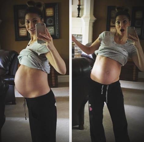 Pregnant Melissa Rycroft