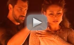 Maks Chmerkovskiy and Vanessa Lachey Dance the Rumba