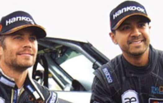 Paul Walker and Friend