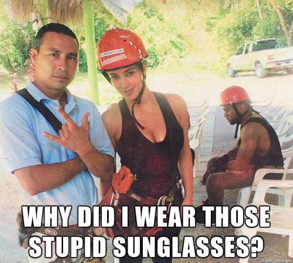 Sunglasses Regret