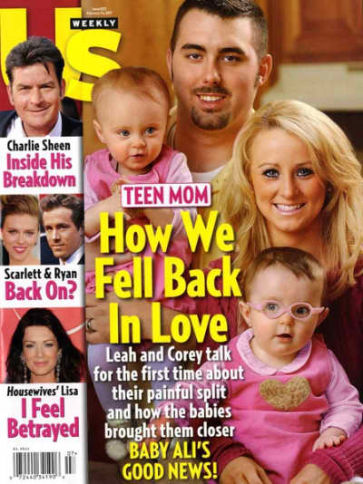 Leah Messer, Corey Simms and Kids