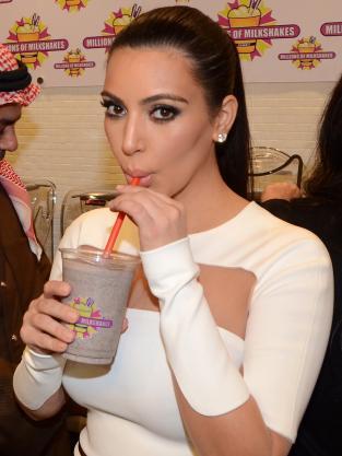Kim Kardashian, Milkshake