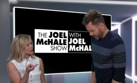 Kristen Bell and Joel McHale