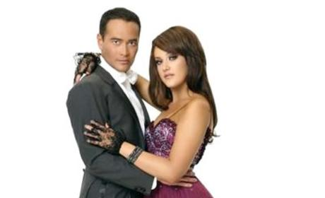Mark Dacascos and Lacey Schwimmer