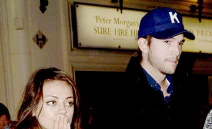 Ashton Kutcher and Mila Kunis: Moving to London?