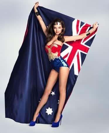 Miranda Kerr, Wonder Woman