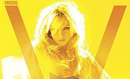 Britney Spears Covers V Magazine, Looks Sensual