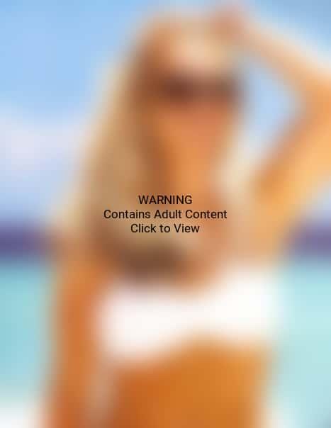Britney Spears, White Bikini