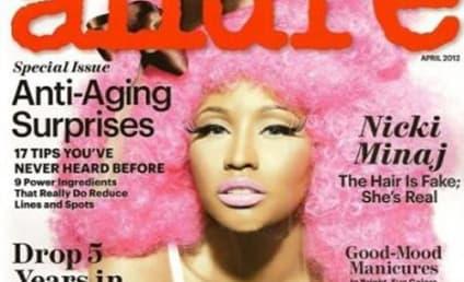 Nicki Minaj on Allure Cover: Major Cleavage Alert!