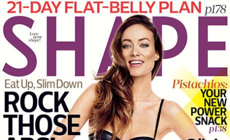Olivia Wilde Shape Magazine cover
