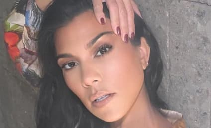 Kourtney Kardashian Teases Thirsty Fans with New Lingerie Pic