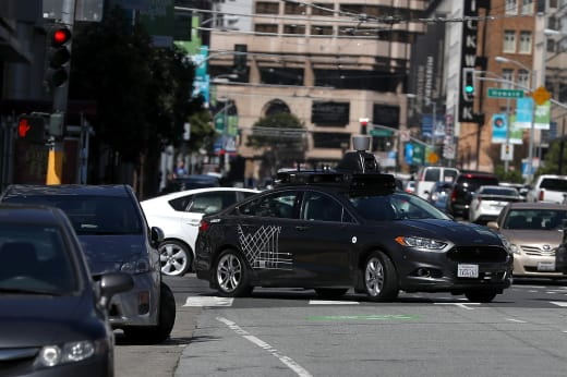 Uber Self-Driving Car Image
