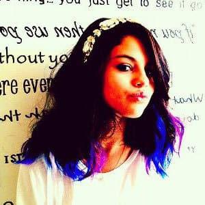 Colorful Selena Gomez Hair