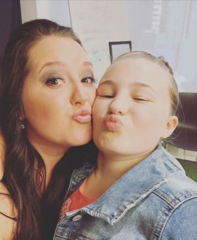 Kristina and Leah