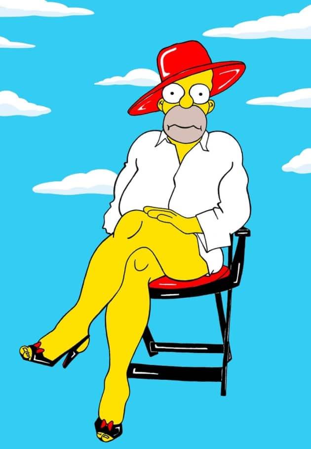 Homer Simpson: NO Pants!