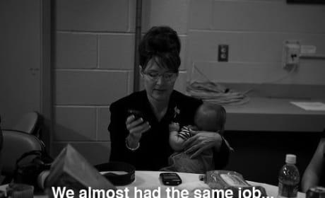 Hillary Clinton and Sarah Palin Texting