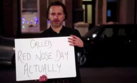 Love Actually Reunion Promo: Look Who's Holding Cue Cards Again