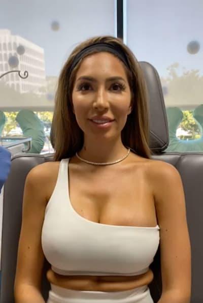 Farrah antes del Botox