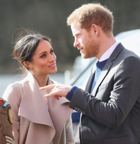 Meghan Markle and Prince Harry in 2018