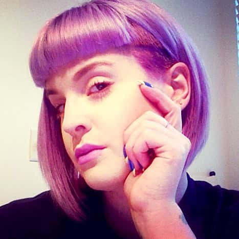 Kelly Osbourne Shaved Head Pic