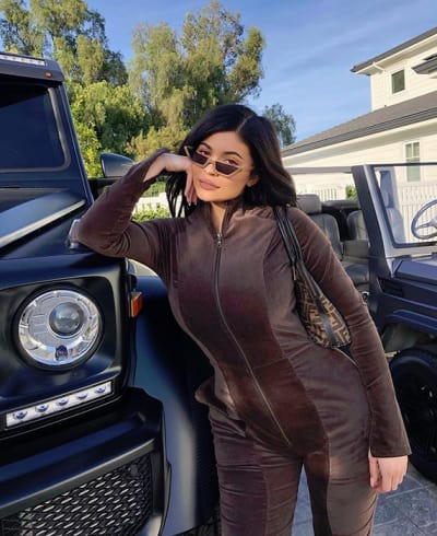 Kylie Jenner Flaunts Her Post-Baby Curves