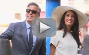 Amal Alamuddin and George Clooney: OFFICIALLY Married!