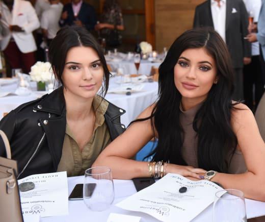 Kendall Jenner and Kylie Jenner Celebrate Kris Jenner's Haute Living Cover