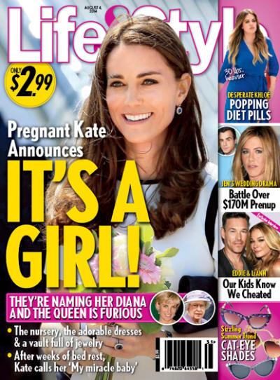 Kate Middleton: It's a Girl!