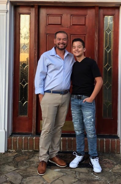 Jon Gosselin and Collin Gosselin, First Day of High School
