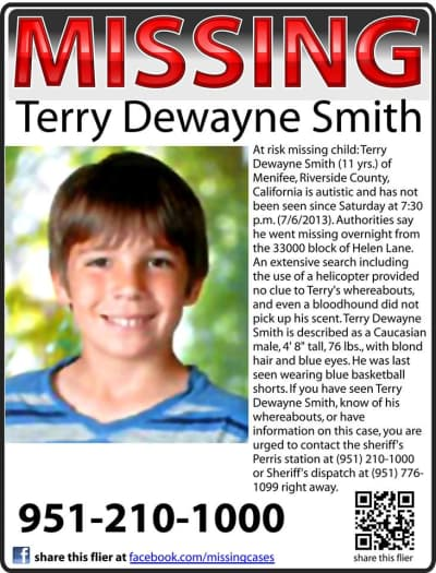 Terry Smith Missing