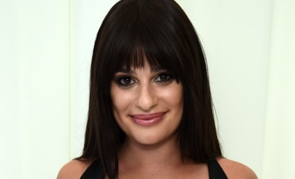 Lea Michele: I'm Engaged! Check Out My HUGE Ring!