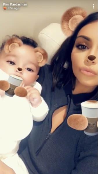Kim Kardashian With Chicago