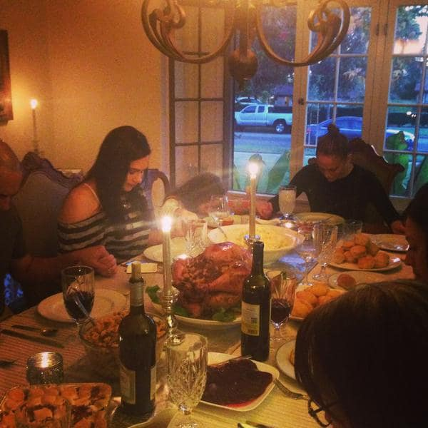 The best celebrity Thanksgiving photos from Instagram ...