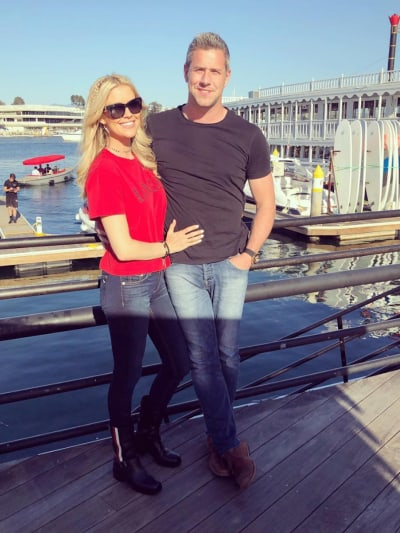 Christina Anstead with Ant