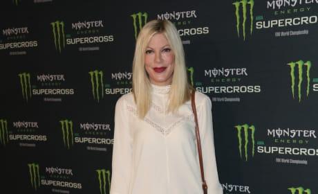 Tori Spelling: Monster Energy Supercross