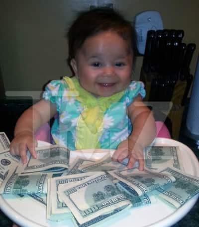Pauly D Baby Photo