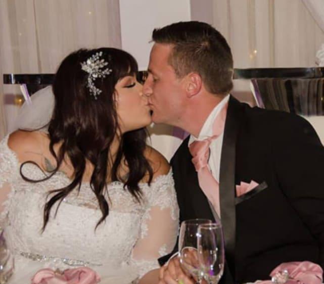 Tiffany franco and ronald smith wedding