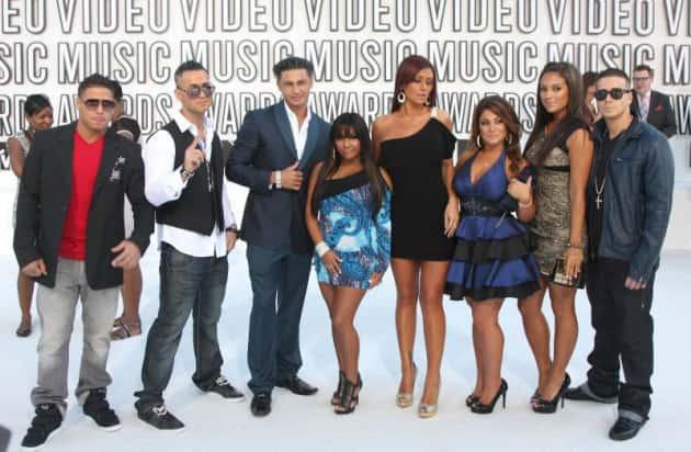 The Jersey Shore Cast Photo