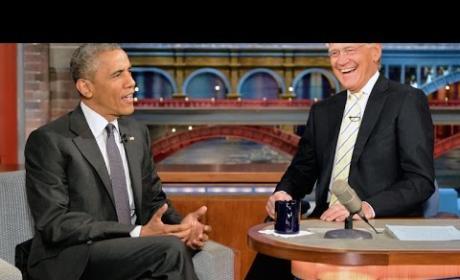 Barack Obama on The Late Show
