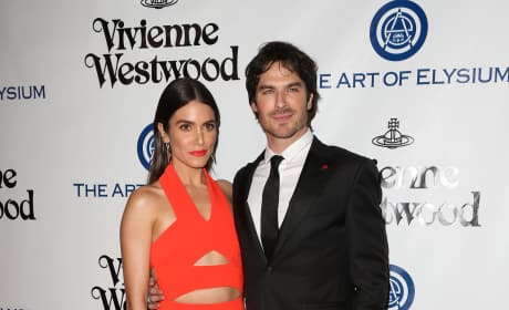 Nikki Reed and Ian Somerhalder: The Art of Elysium Presents Vivienne Westwood & Andreas Kronthaler's 2016 HEAVEN Gala