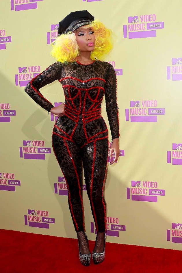 Nicki Minaj at the VMAs