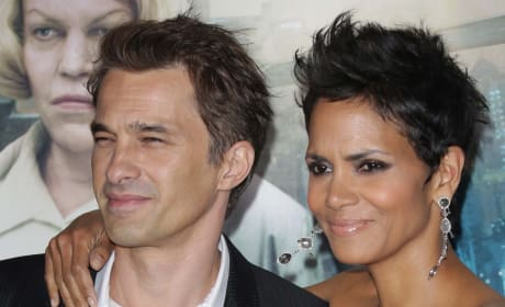 Olivier Martinez with Halle Berry