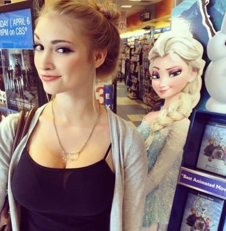 Anna Faith Carlson As Elsa