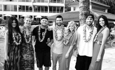 Brandon Jenner, Leah Felder Wedding