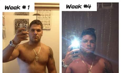 Ronnie Ortiz-Magro Weight Loss